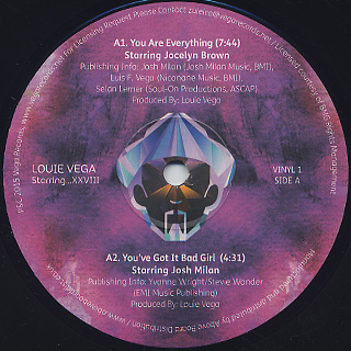 Louie Vega / Starring... XXVIII(Part 2) label