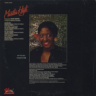 Martha High / S.T. back