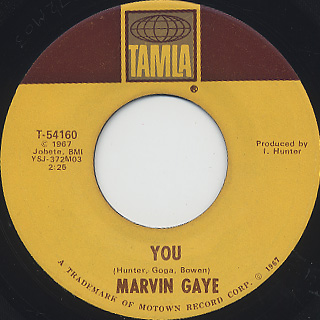 Marvin Gaye / You c/w Change What You Can