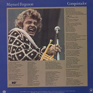 Maynard Ferguson / Conquistador back
