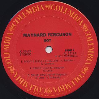 Maynard Ferguson / Hot label