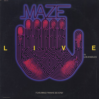 Maze Featuring Frankie Beverly / Live In Los Angels