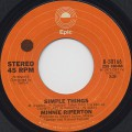 Minnie Riperton / Simple Things c/w Minnie's Lament