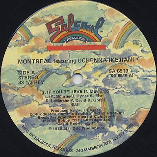 Montreal featuring Uchenna Ikejiani / S.T. label