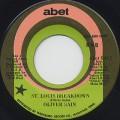 Oliver Sain / St. Louis Breakdown c/w Comin' Down Soul