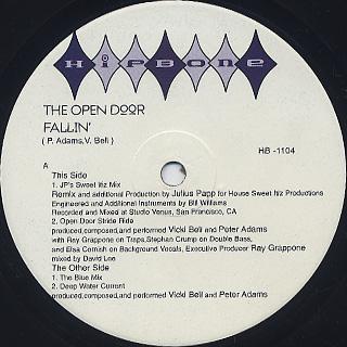 Open Door / Fallin' label