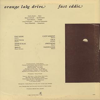 Orange Lake Drive / Fast Eddie back