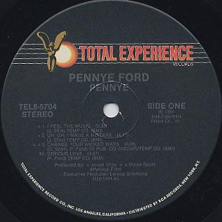 Pennye Ford / Pennye label