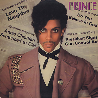 Prince / Controversy front