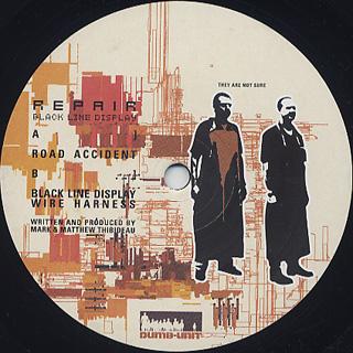 Repair / Black Line Display EP label