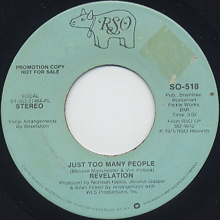 Revelation / Just Too Many People (7