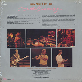 Rhythmic Union / Gentle Awakening back