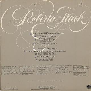 Roberta Flack / S.T. back