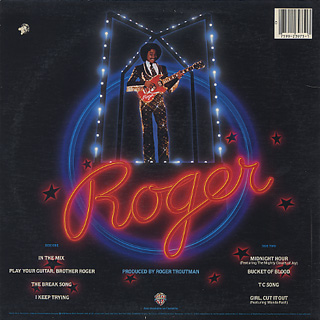 Roger / The Saga Continues... back