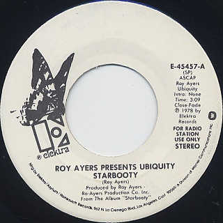 Roy Ayers presents Ubiquity / Starbooty (7