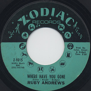 Ruby Andrews / You Made A Believer (Out Of Me) (45) back