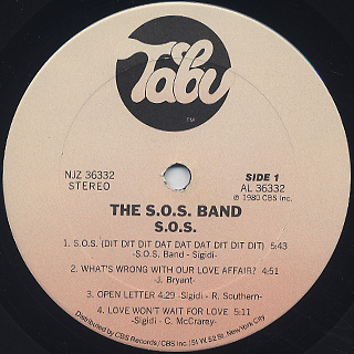 S.O.S. Band / S.O.S. label