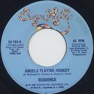 Sequence / Angels Playing Hookey c/w Love Changes