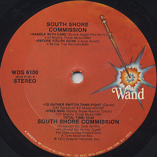 South Shore Commission / S.T. label