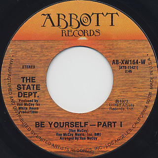 State Dept. / Be Yourself