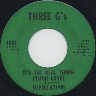 Superlatives / It's The Real Thing (Your Love)
