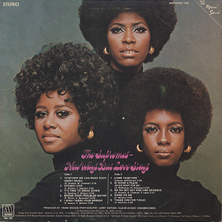 Supremes / New Ways But Love Stays back