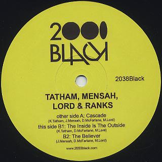 Tatham, Mensah, Lord & Ranks / Cascade