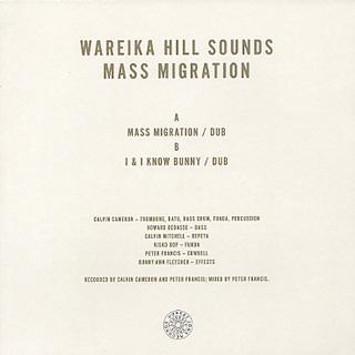 Wareika Hill Sounds / Mass Migration back