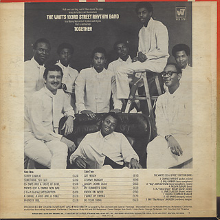 Watts 103rd Street Rhythm Band / Together back
