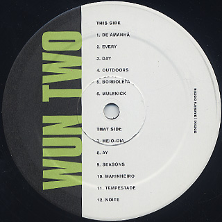 Wun Two / Baker's Dozen label