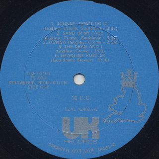 10cc / S.T. label