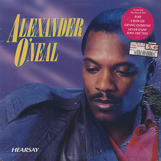 Alexander O'neal / Hearsay front