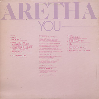 Aretha Franklin / You back