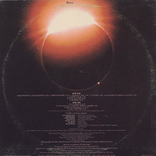 Billy Cobham / Total Eclipse back