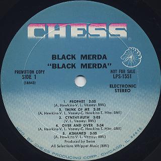 Black Merda / S.T. label