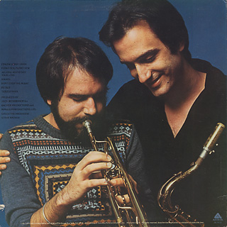 Brecker Bros. / Don't Stop The Music back