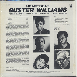 Buster Williams Heartbeat