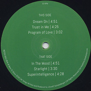 Bybo / Dream On label