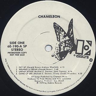 Chameleon / S.T. label