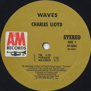 Charles Lloyd / Waves label