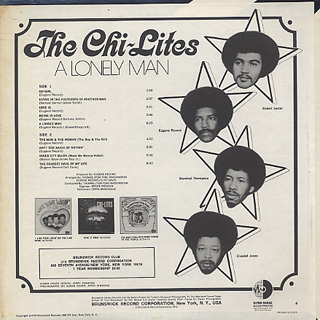 Chi-Lites / A Lonely Man back