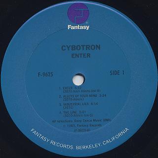 Cybotron / Enter label
