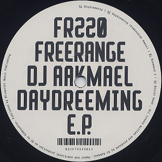DJ Aakmael / Daydreeming EP back