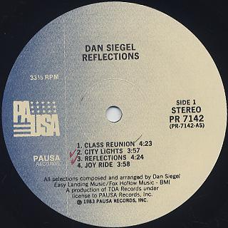 Dan Siegel / Reflections label