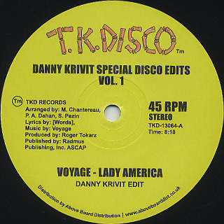 Danny Krivit / Special Disco Edits Vol.1