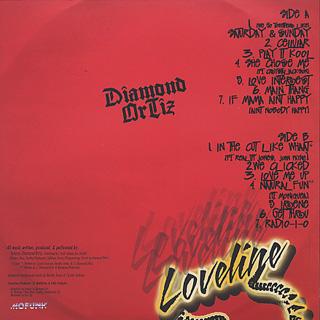 Diamond Ortiz / Loveline back