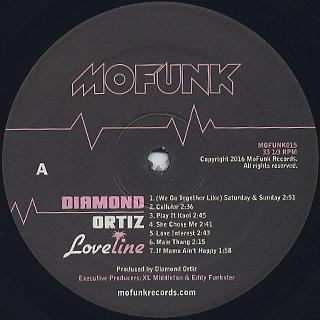 Diamond Ortiz / Loveline label