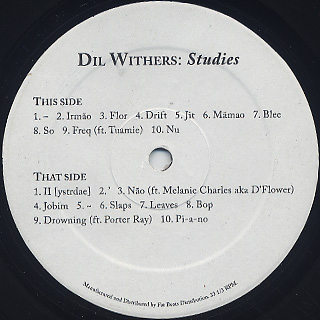Dil Withers / Studies label
