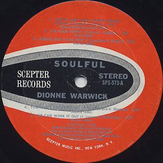 Dionne Warwick / Soulful label