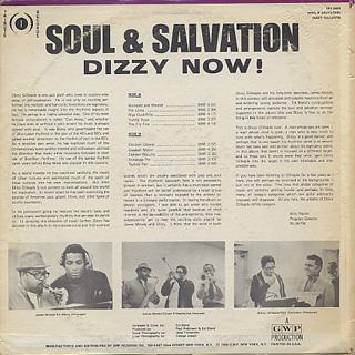 Dizzy Gillespie / Soul & Salvation back